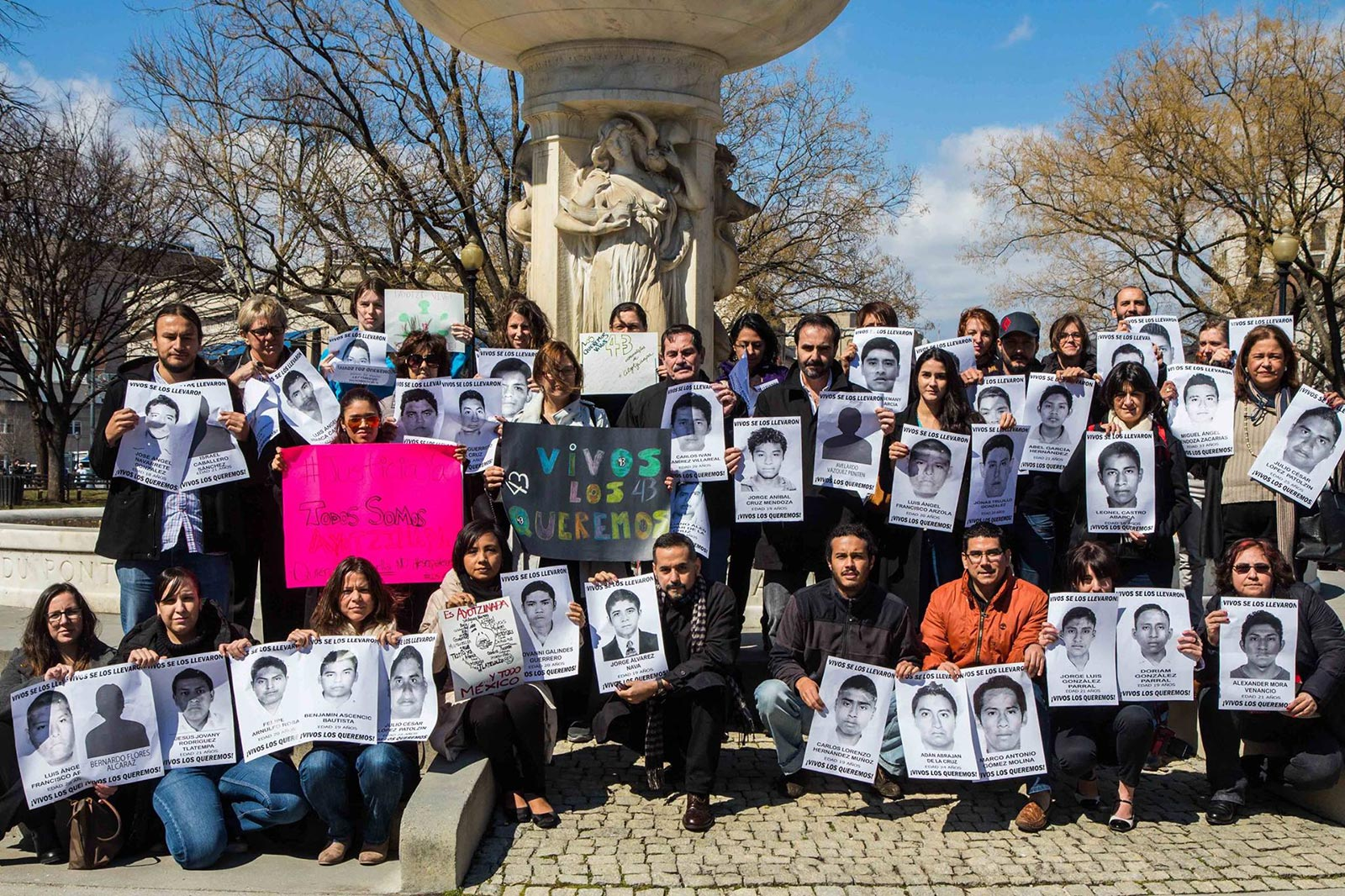 Campaign for the 43 missing Ayotzinapa students